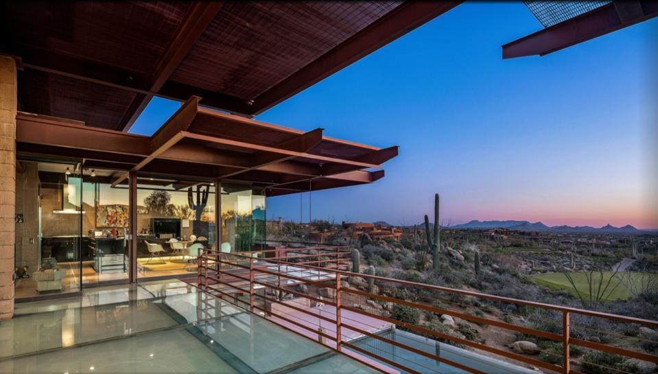 Real estate communities like Desert Mountain.