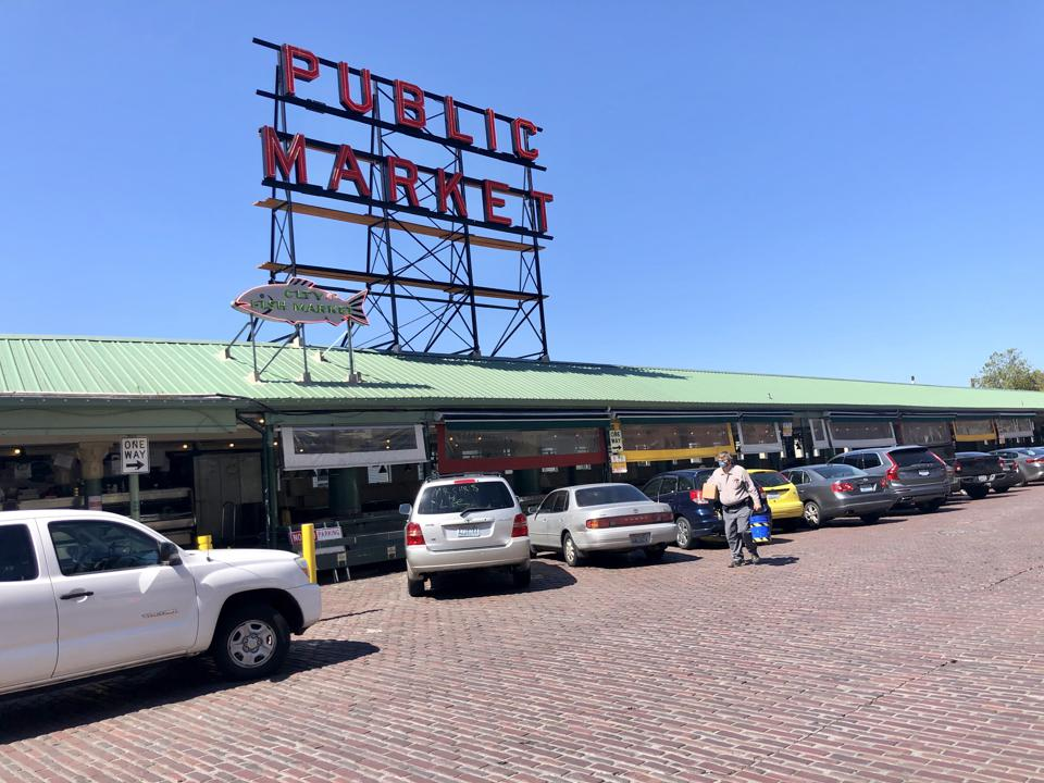 Pike Place Market in Seattle.