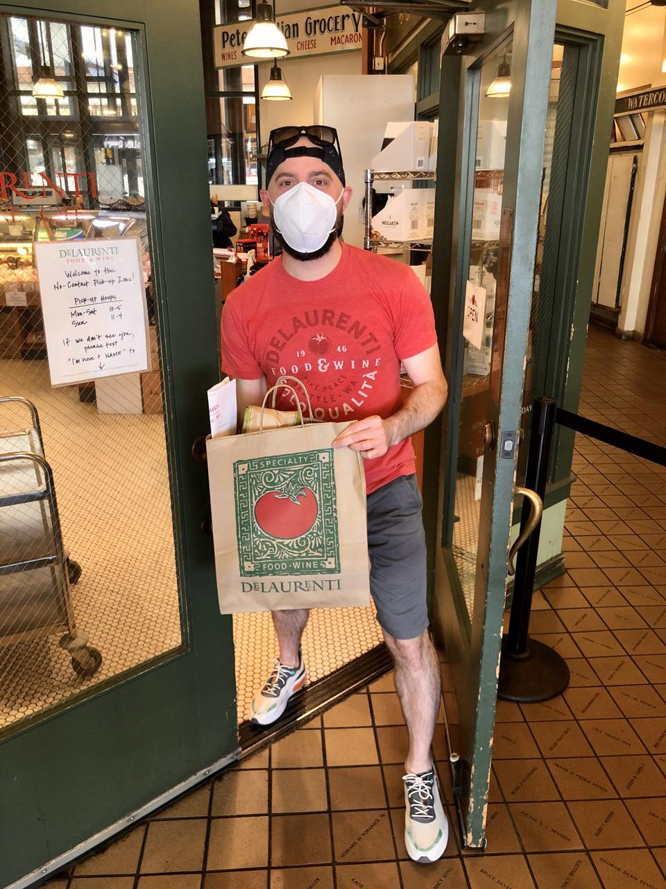 DeLaurenti offers online ordering and pickup at Pike Place Market in Seattle.