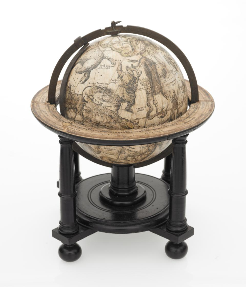 A celestial globe, created by Willem Janszoon Blaeu in 1602. Courtesy of the British Library.