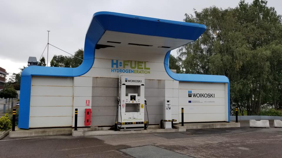 Woikoski Hydrogen Station, Gothenburg, Sweden.