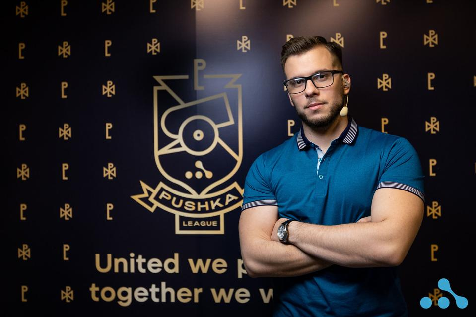 Admir ″lizZard″ Salkanović at the WePlay Pushka League.