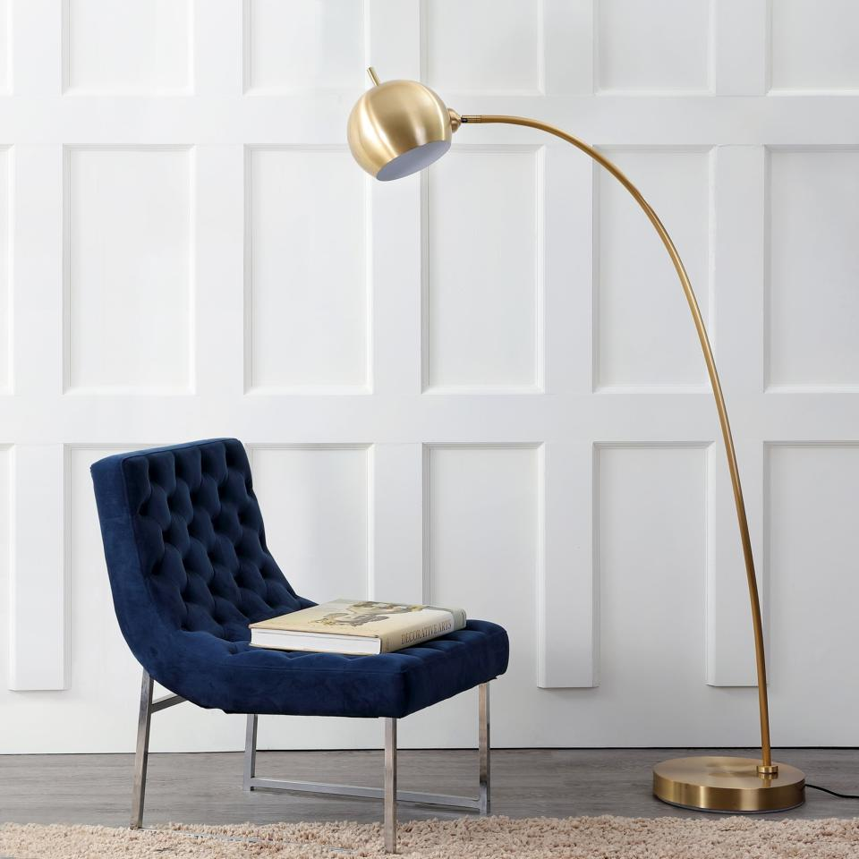 The Safavieh Belami Floor Lamp available at Bed Bath & Beyond.