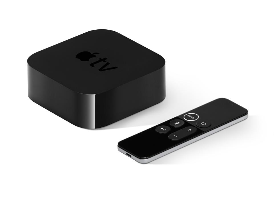 Apple TV available in HD and 4K versions