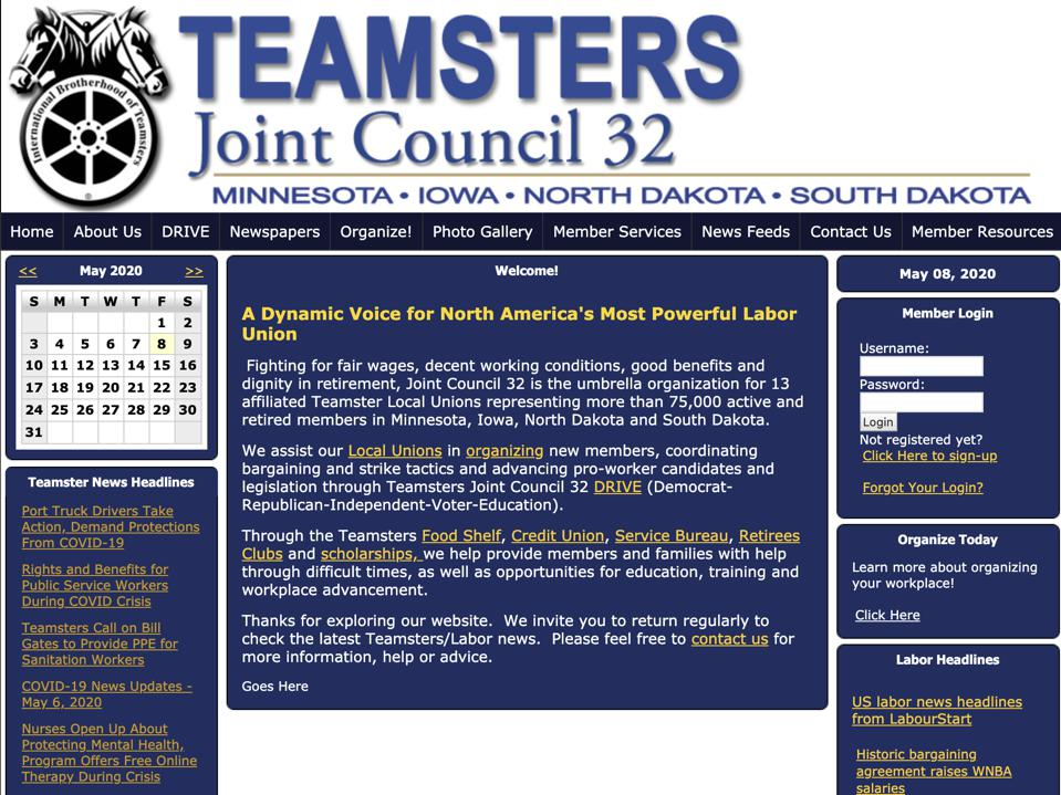 teamsters joint council 32 labor union