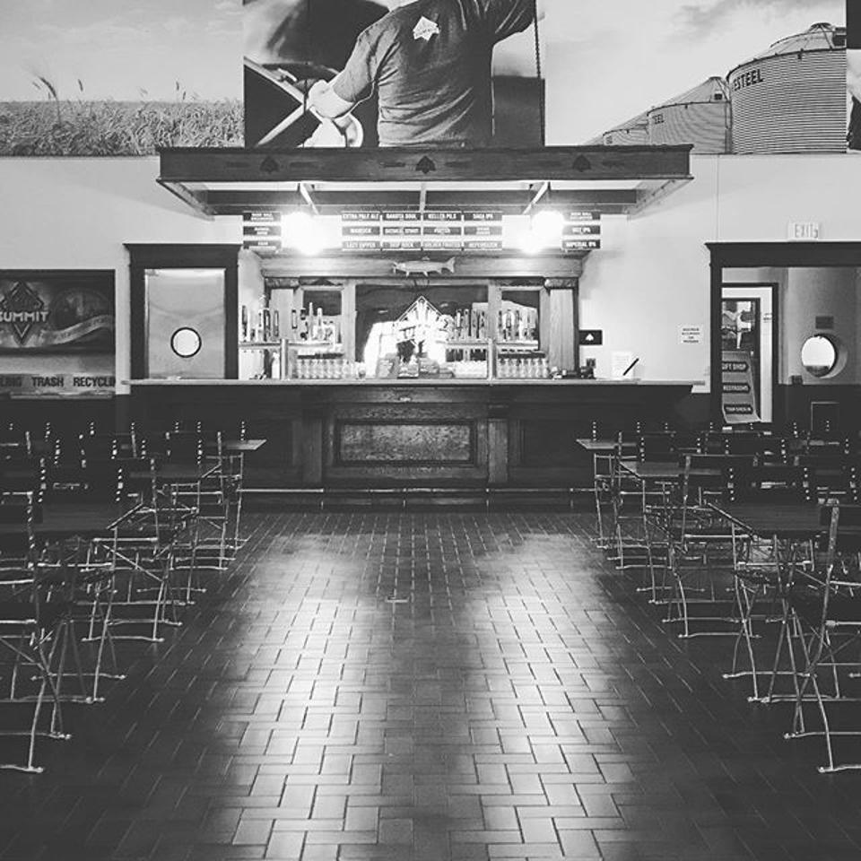Summit brewing Minnesota beer hall
