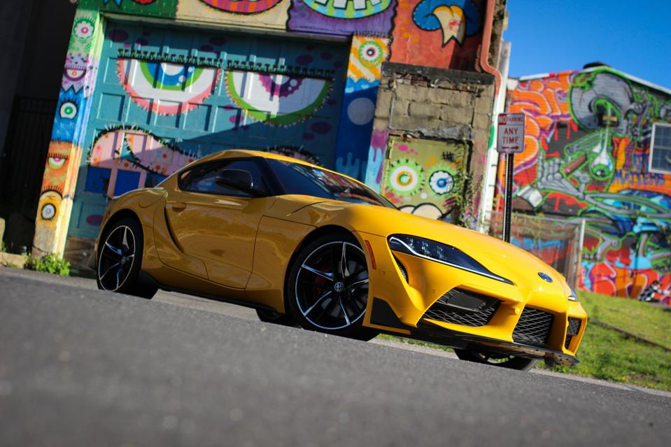 The 2020 Toyota Supra Is The Saturday Morning Cartoon Of Cars