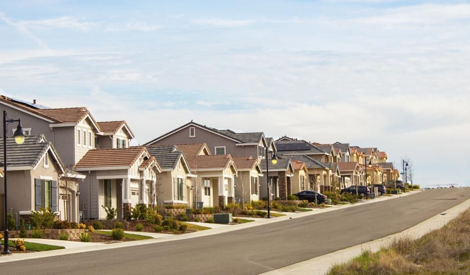 Here's the latest housing market numbers