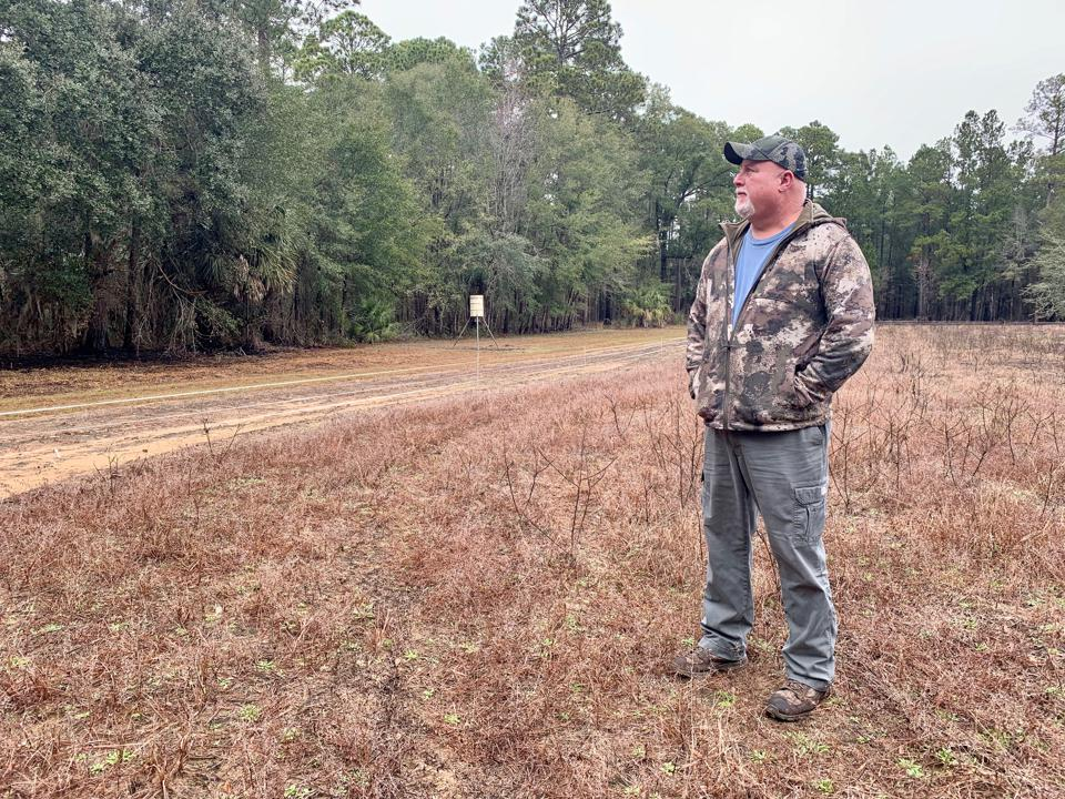 Palmetto Bluff Conservancy Director Jay Walea is responsible for ensuring the conservation vision of the land is preserved and protected.