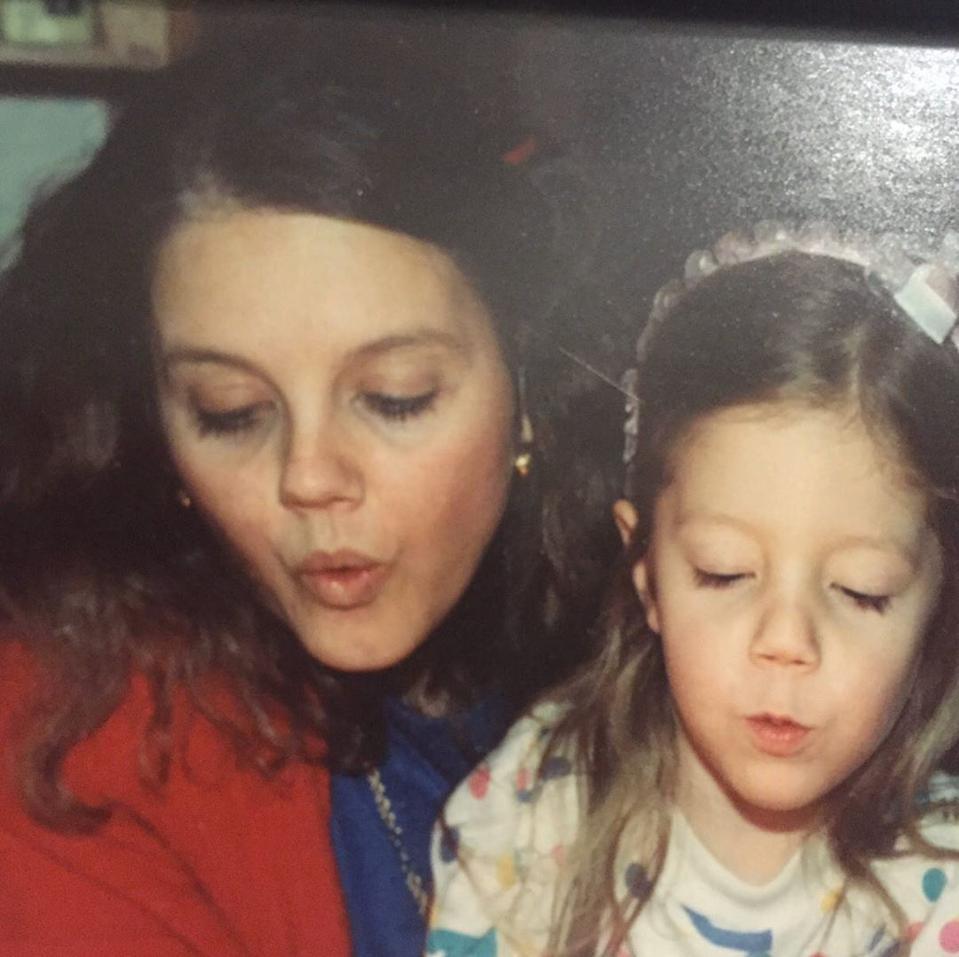 Stephanie Porter et sa mère