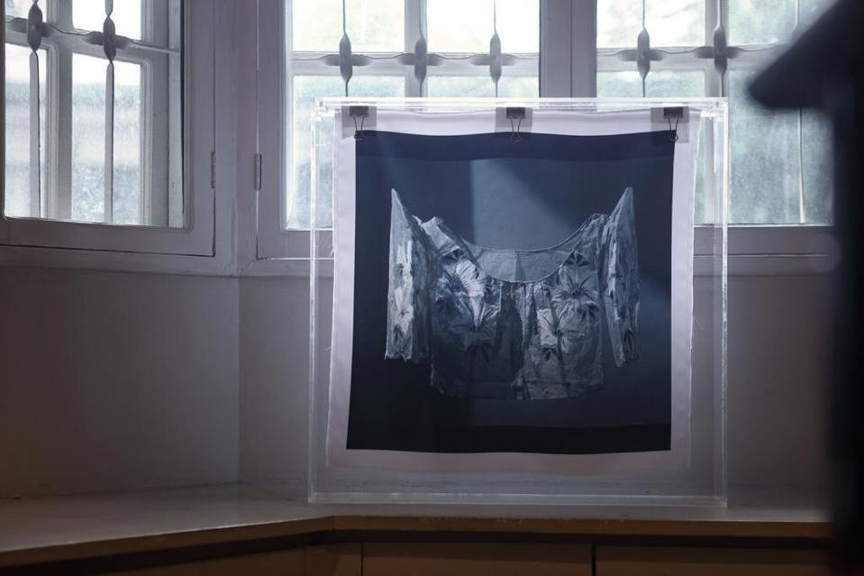 Photo print scarf by Joann Bitagcol