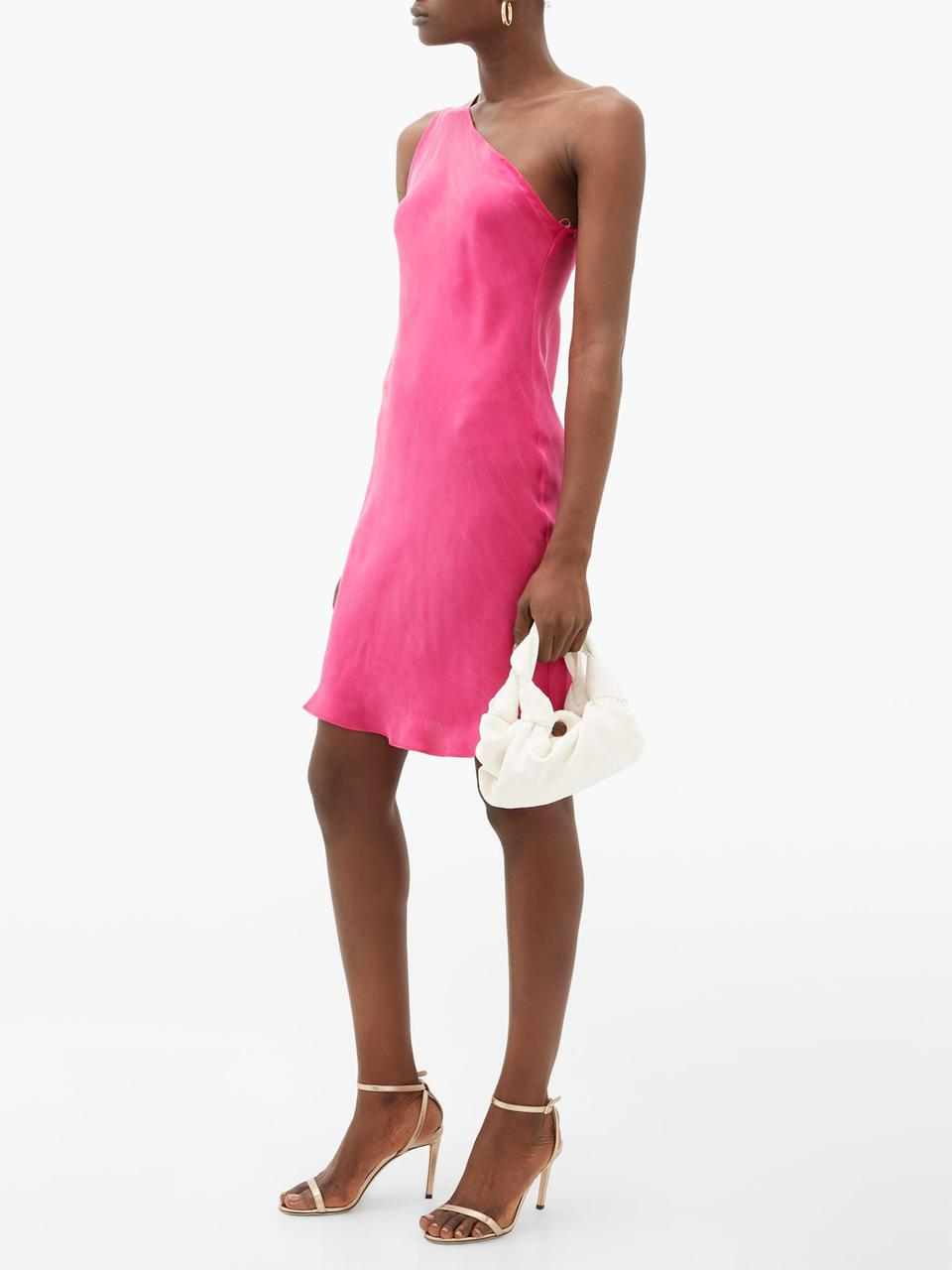The One Shoulder Dress by Worme