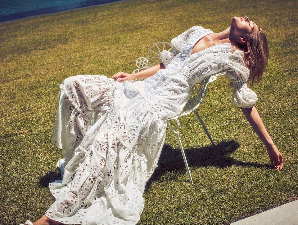 White dress by Alexis