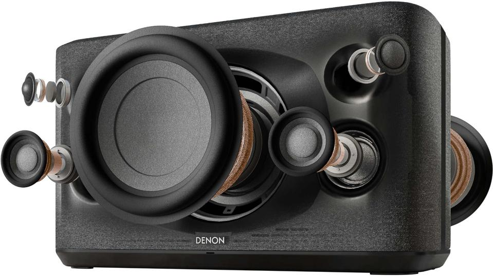Exploded view of the Denon Home 350