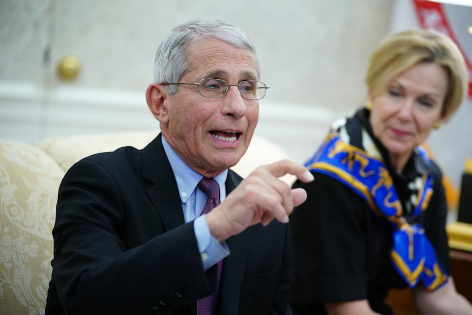US-POLITICS-HEALTH-VIRUS-TRUMP-EDWARDS COVID-19 coronavirus Fauci