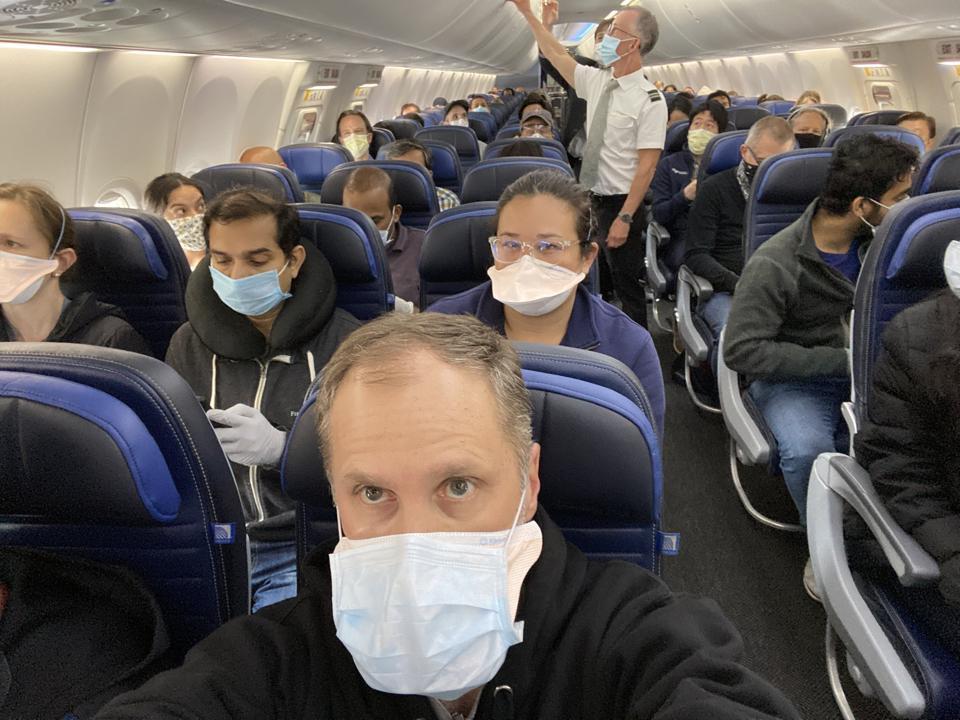 COVID-19 air travel