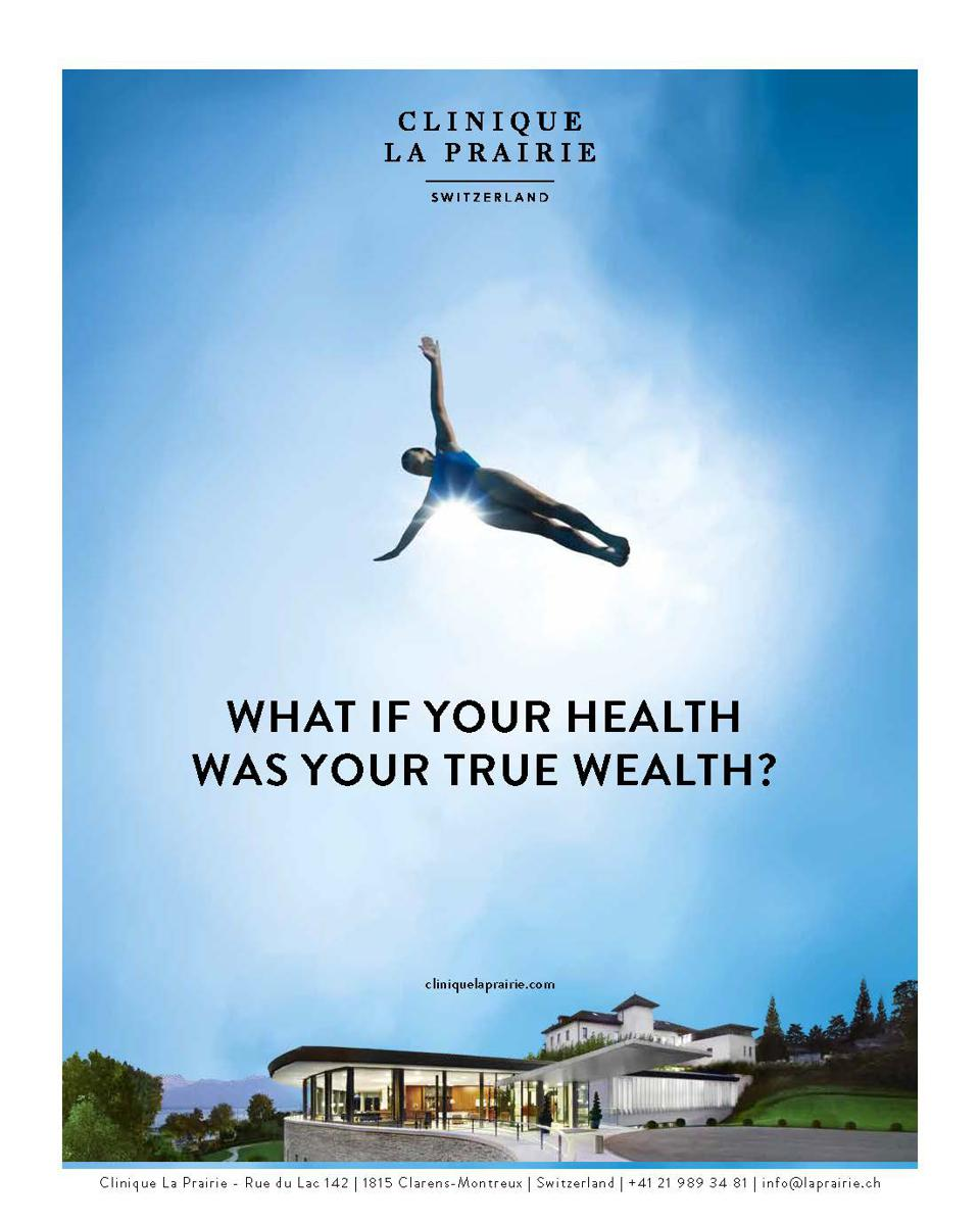 Clinique La Prairie is redefining its purpose to What if Your Health Was your True Wealth?