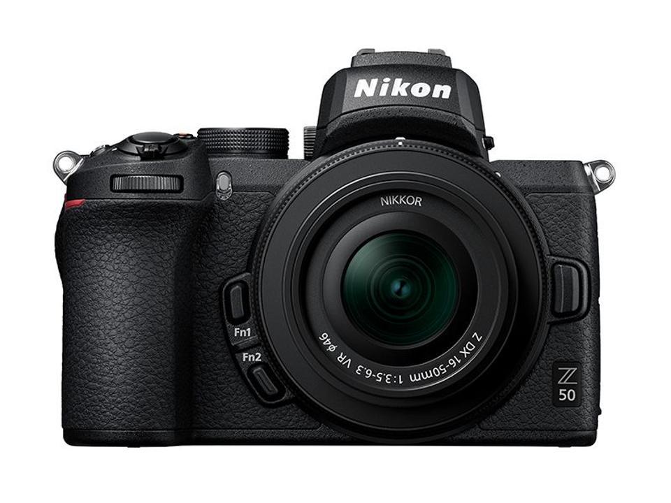 Nikon Z50 APS C mirrorless camera