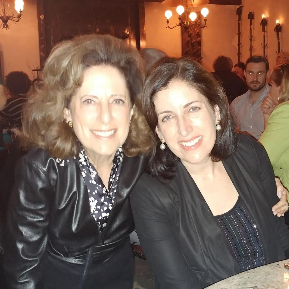 Tara Walpert Levy et sa mère