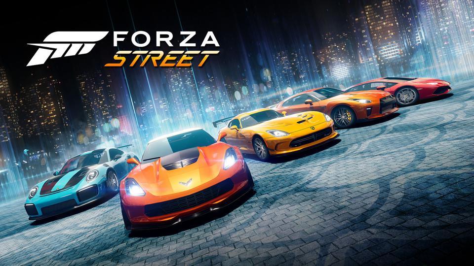 Forza Street main art