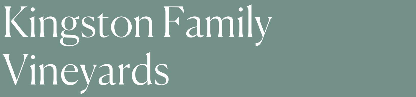 Kington Family VIneyards