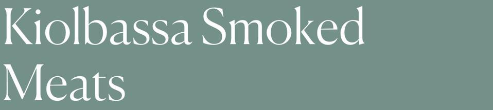 Kiolbassa Smoked Meats