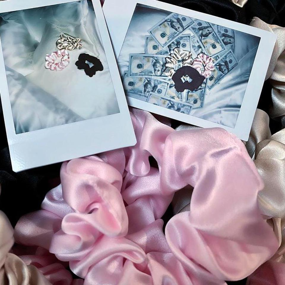 The Blissy scrunchies perfect for any up-do.