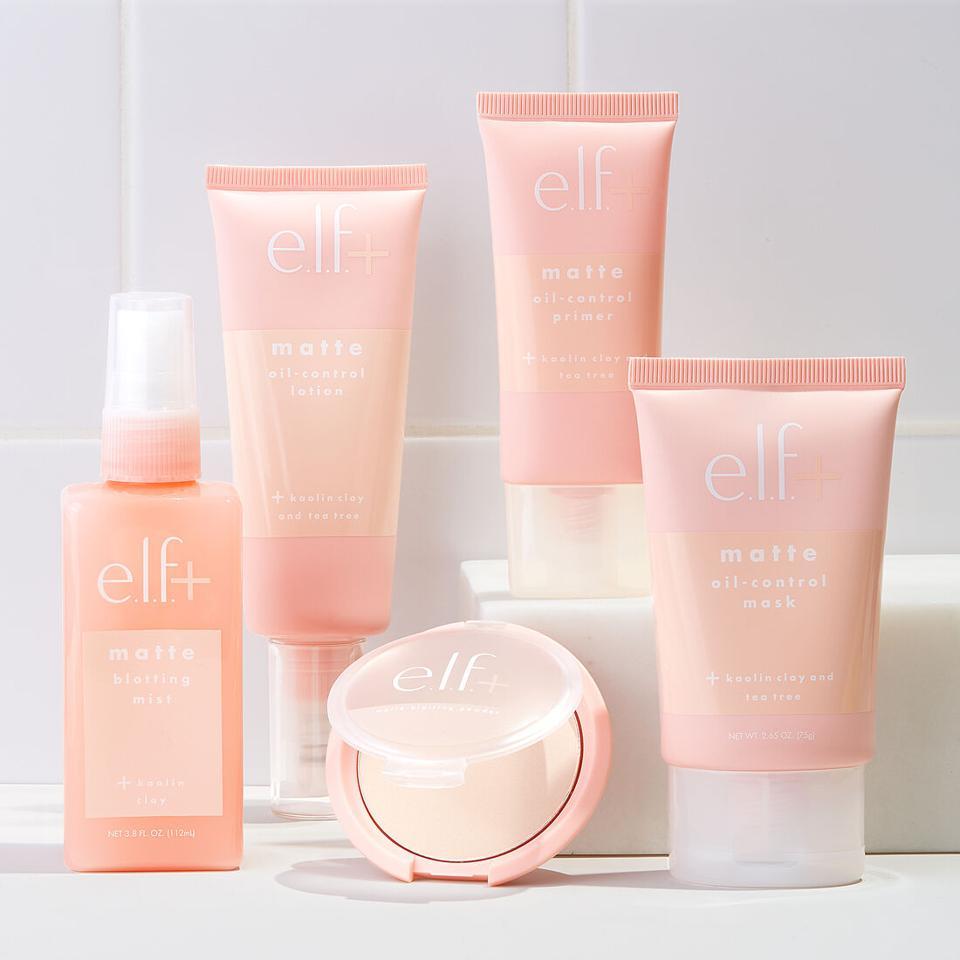 e.l.f. Cosmetics' Plus Matte collection.