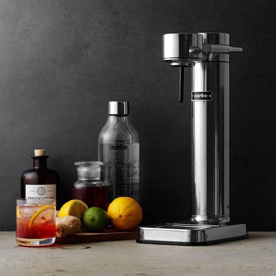 The Aarke sparkling water maker.