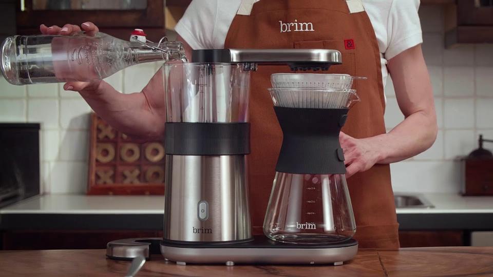 A Brim coffee maker.