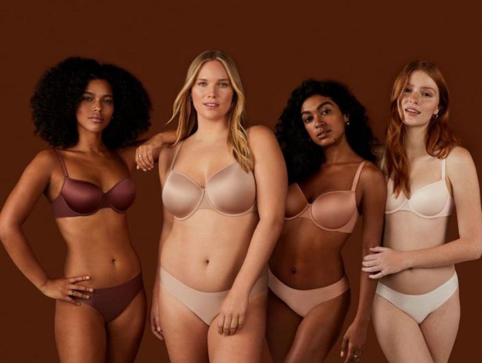 An inclusive ThirdLove bra campaign.