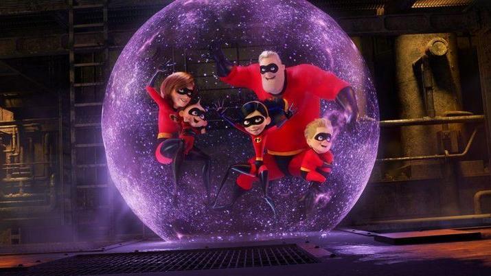 Walt Disney and Pixar's 'Incredibles 2'