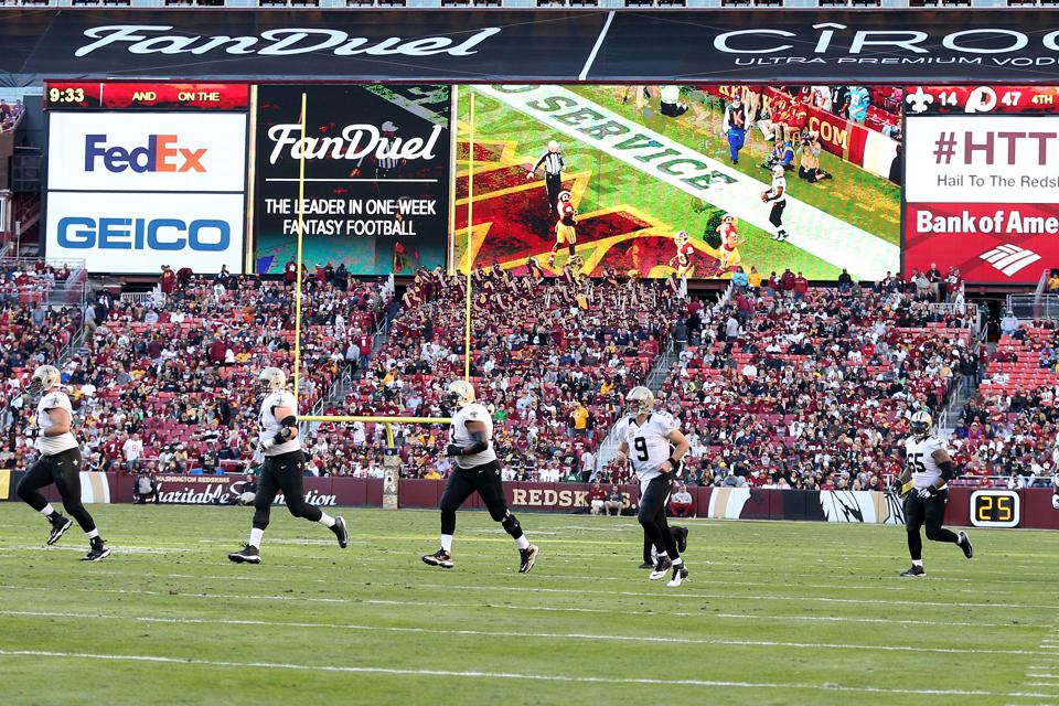 New Orleans Saints v Washington Redskins