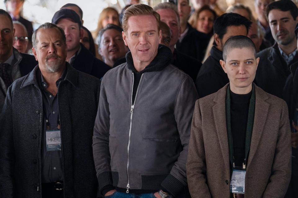 Showtime, Billions, Damian Lewis, Paul Giamatti, Asia Kate Dillon, David Costabile, Kelly AuCoin, Stephen Kunken, Sarah Stiles, Maggie Siff, hedge funds, ayahuasca, the Chris Rock Test, psilocybin, COVID-19, streaming, bingeing, Jade Eshete, Samantha Mathis, Brian Koppelman, David Levien, Corey Stoll