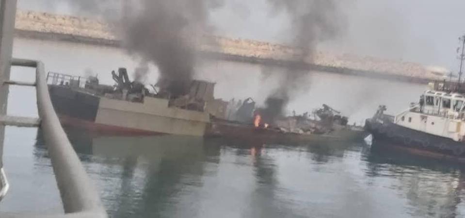 Kenarak warship Iran