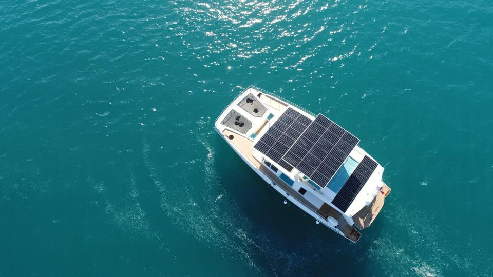 Solar-powered yachts serenity yachts cutting edge yachts
