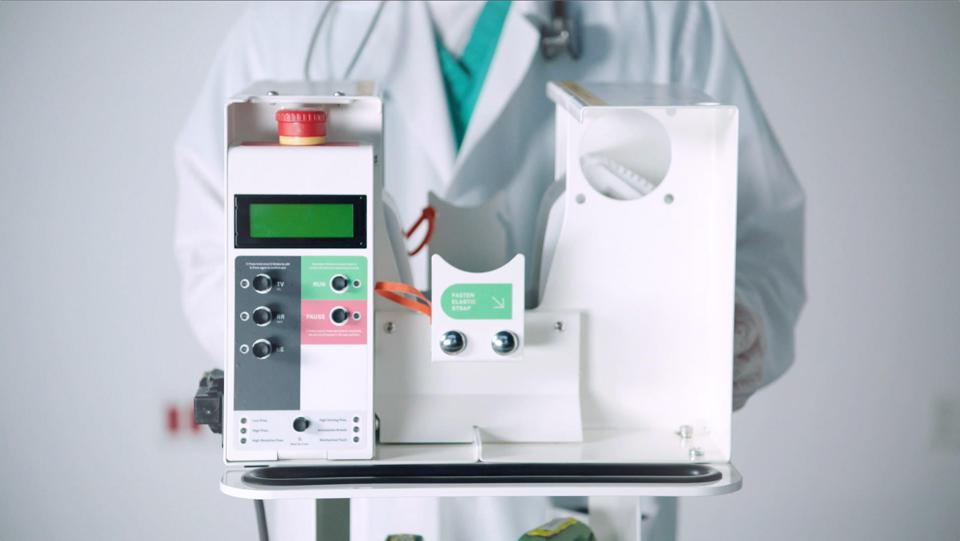 Innovative new approach to closing the ventilator gap by automating manual resuscitators