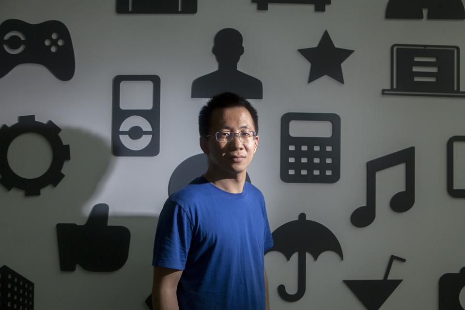 Zhang Yiming. (Photographer: Giulia Marchi/Bloomberg)