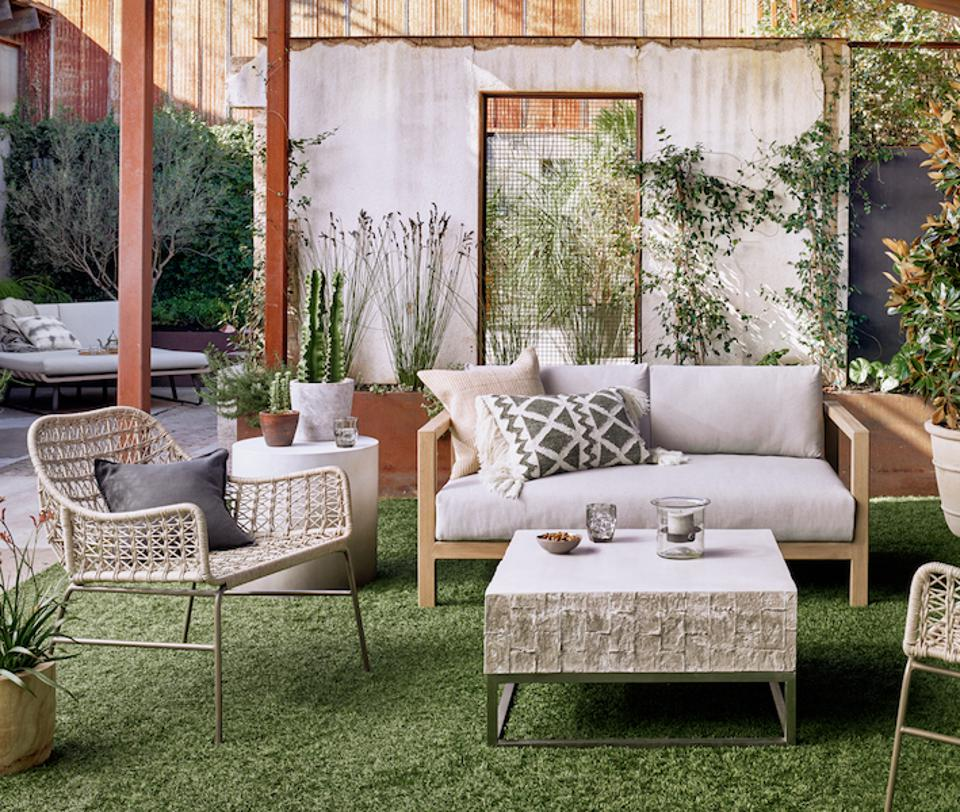 Paynes Gray's outdoor furniture.