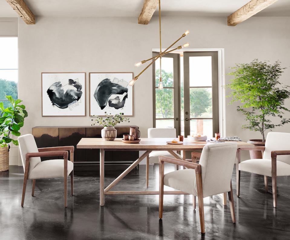 Payne Gray Dining Room