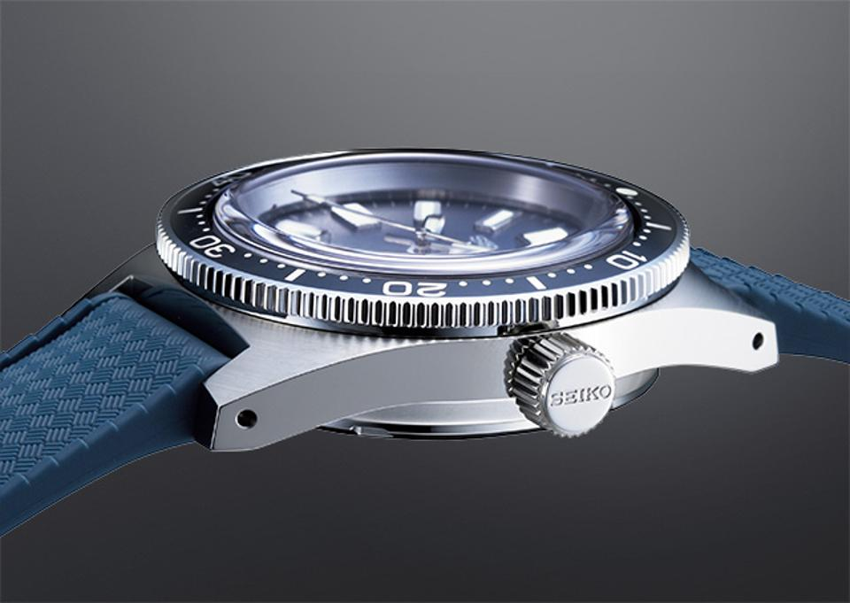 The SLA037, a re-creation of Seiko's first dive watch, released in 1965.
