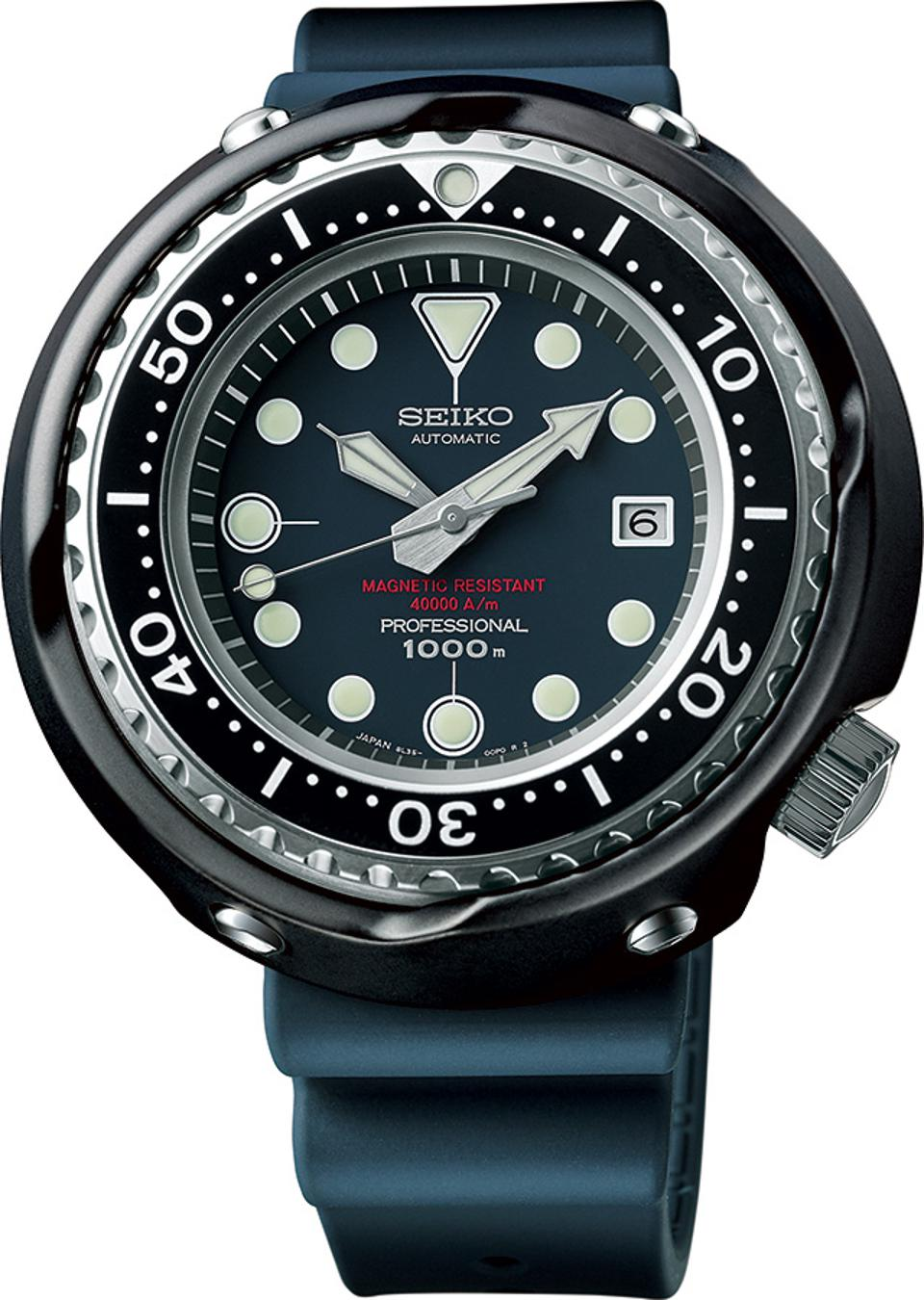The new ″Tuna″, a recreation of a diver's watch Seiko introduced in 1975.