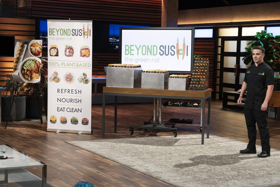 Famous for its vegan sushi rolls, Beyond Sushi appeared on Shark Tank in 2018.