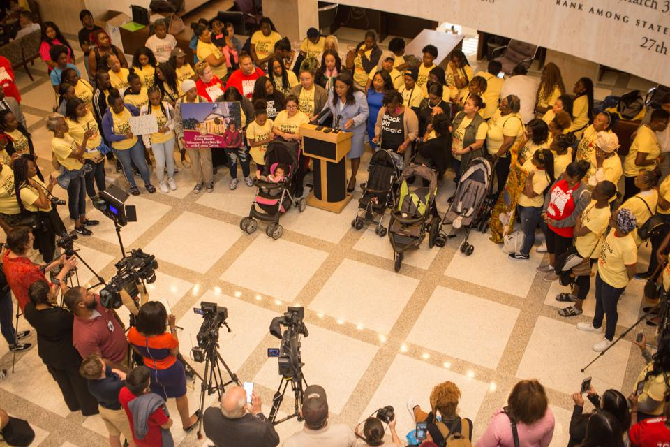 Southern Birth Justice Network organised ″Black Girls Day″ at the Capital