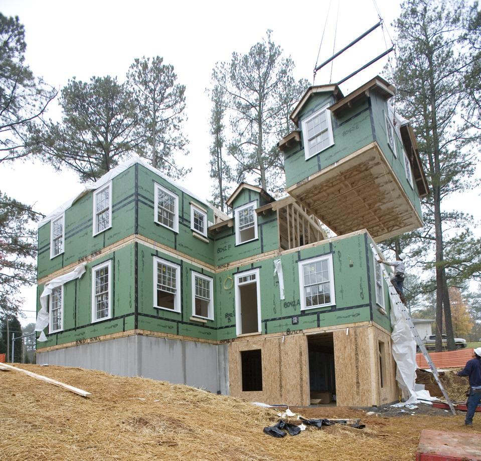 Construction of modular home