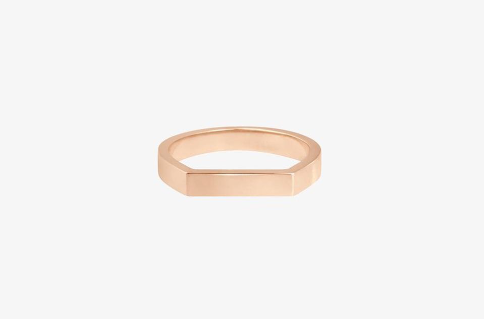 Bonnie & Clyde Signet Ring by Vanrycke Paris