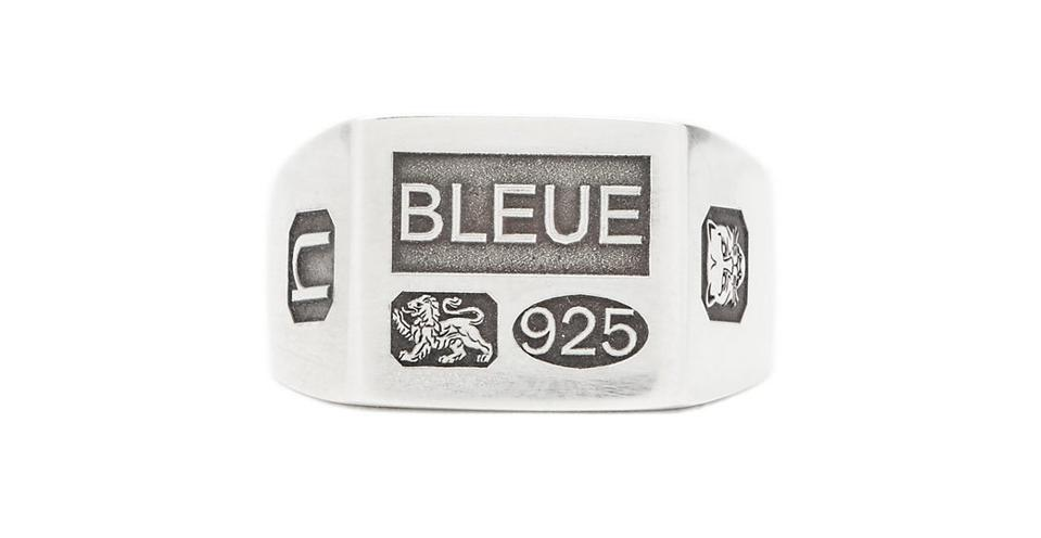 Grandfather sterling-silver signet ring by Bleue Burnham: