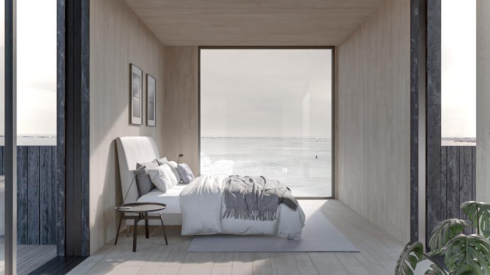 The Koto Yksi has large picture windows which create a sense of openness.