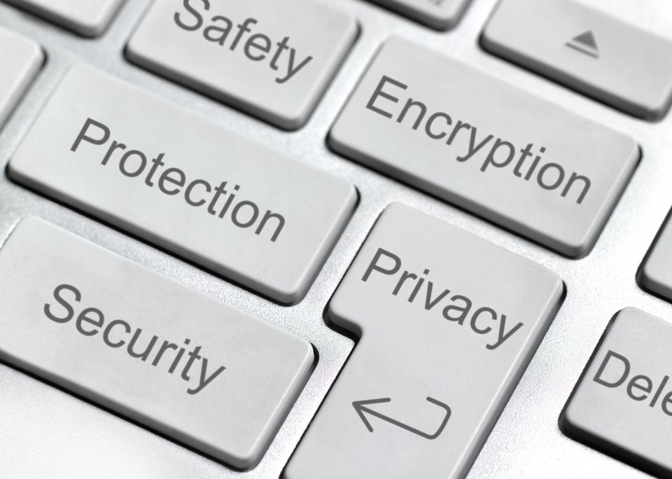 Encryption button on keyboard