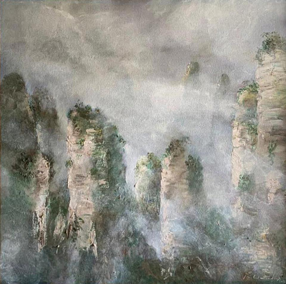 Tianzi Mountain by Betsy Westendorp